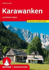Rother Wanderführer Karawanken und Steiner Alpen