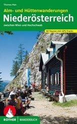 Rother Wanderbuch Alm- und Hüttenwanderungen Niederösterreich