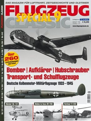 Bomber, Aufklärer, Hubschrauber, Transport- und Schulflugzeuge
