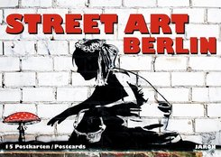Street Art Berlin,15 Postkarten
