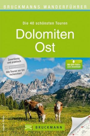 Bruckmanns Wanderführer Dolomiten Ost