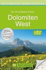 Bruckmanns Wanderführer Dolomiten West