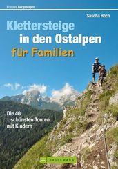 Klettersteige in den Ostalpen für Familien