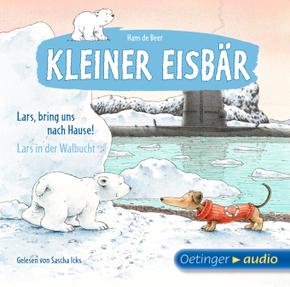 Kleiner Eisbär, Lars, bring uns nach Hause! / Lars in der Walbucht, 1 Audio-CD