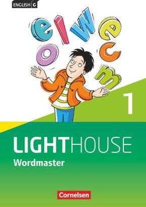 English G Lighthouse, Allgemeine Ausgabe: 5. Schuljahr - Wordmaster mit Lösungen; Bd.1