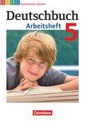 Deutschbuch, Gymnasium Hessen: 5. Schuljahr, Arbeitsheft