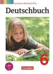 Deutschbuch, Gymnasium Rheinland-Pfalz: Deutschbuch Gymnasium - Rheinland-Pfalz - 6. Schuljahr