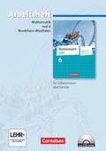 Mathematik Real, Differenzierende Ausgabe Nordrhein-Westfalen (2011): 6. Schuljahr, Arbeitsheft m. CD-ROM
