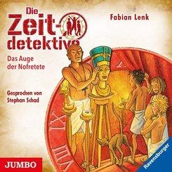 Die Zeitdetektive - Das Auge der Nofretete, 1 Audio-CD