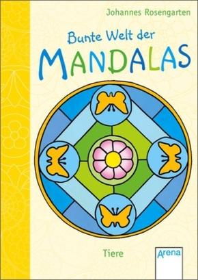 Bunte Welt der Mandalas - Tiere, Mini-Ausgabe