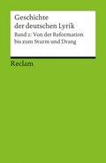 Geschichte der deutschen Lyrik - Bd.2