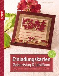 Einladungskarten Geburtstag & Jubiläum, m. CD-ROM