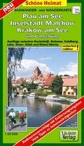 Doktor Barthel Karte Plau am See, Malchow, Krakow am See und Umgebung