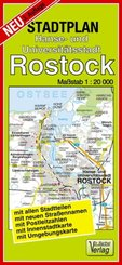 Stadtplan Hanse- und Universitätsstadt Rostock