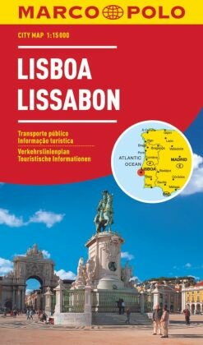 Marco Polo Citymap Lissabon
