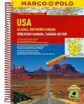 Marco Polo Reiseatlas USA, Alaska, Südliches Kanada; USA, Alaska, Southern Canada; USA, Alaska, Canada du Sud