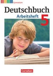 Deutschbuch, Gymnasium Allgemeine Ausgabe, Neubearbeitung 2012: 5. Schuljahr, Arbeitsheft