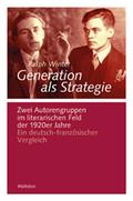 Generation als Strategie