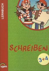 Lernbuch: Schreiben: 3./4.Schuljahr, Lern- und Arbeitsbuch