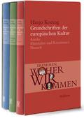 Grundschriften der europäischen Kultur, 3 Bde.