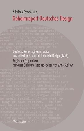 Geheimreport Deutsches Design