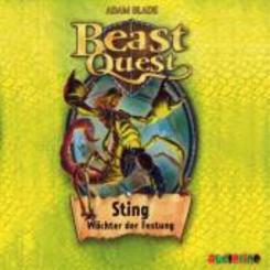 Beast Quest - Sting, Wächter der Festung, Audio-CD