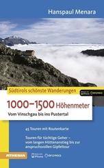 Die schönsten Wanderungen 1000-1500 Höhenmeter
