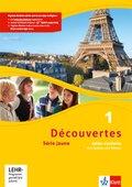 Découvertes - Série jaune: Cahier d'activités mit MP3-CD und Video-DVD; Bd.1
