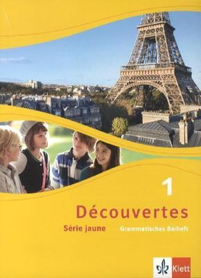 Découvertes - Série jaune: Grammatisches Beiheft; Bd.1