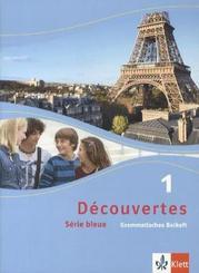 Découvertes - Série bleue: Grammatisches Beiheft (Klasse 7); Bd.1
