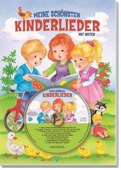 Meine schönsten Kinderlieder, m. Audio-CD