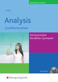 Analysis, Qualifikationsphase Kerncurriculum Berufliche Gymnasien Niedersachsen, m. CD-ROM