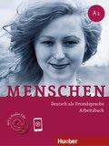 Menschen - Deutsch als Fremdsprache: Arbeitsbuch, m. 2 Audio-CDs; Bd.A1