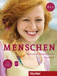 Menschen - Deutsch als Fremdsprache: Kursbuch, m. DVD-ROM; Bd.A1.1