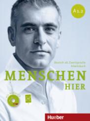 Menschen hier: Arbeitsbuch, m. Audio-CD; Bd.A1.2