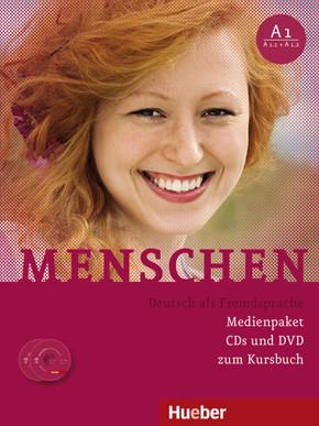 Menschen - Deutsch als Fremdsprache: 3 Audio-CDs und 1 DVD zum Kursbuch; Bd.A1