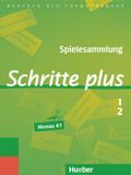 Schritte plus - Deutsch als Fremdsprache: Spielesammlung; Bd.1+2