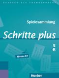 Schritte plus - Deutsch als Fremdsprache: Spielesammlung; Bd.5+6