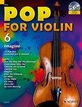 Pop for Violin, m. Audio-CD - Vol.6