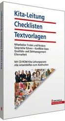 Kita-Leitung - Checklisten - Textvorlagen, m. CD-ROM