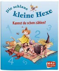Die schlaue kleine Hexe - Kannst du schon zählen? - Maxi Bilderbuch