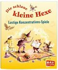 Die schlaue kleine Hexe - Lustige Konzentrations-Spiele - Maxi Bilderbuch