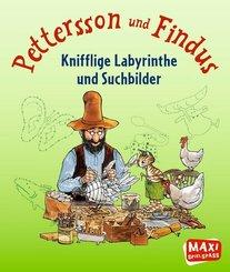 Pettersson und Findus - Knifflige Labyrinthe und Suchbilder