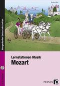 Lernstationen Musik: Mozart, m. Audio-CD