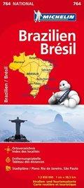 Michelin Karte Brasilien; Brésil