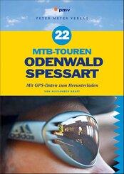 22 MTB-Touren Odenwald, Spessart