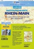 Radtourenkarte Rhein-Main 1: