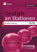 Deutsch an Stationen, Rechtschreibung 9/10