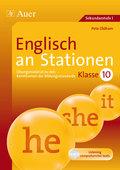Englisch an Stationen, Klasse 10, m. Audio-CD