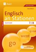 Englisch an Stationen, Grammatik 7/8, m. Audio-CD